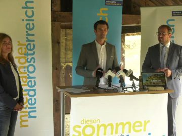 """Pressekonferenz """"VP NÖ Sommerprogramm 2020 W4tv164"""