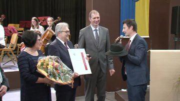 Zistersdorf Ehrenring An Bürgermeister Peischl 2019 W4tv144